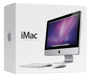 Apple iMac All-in-One desktop PC computer 21.5-inch Core i5