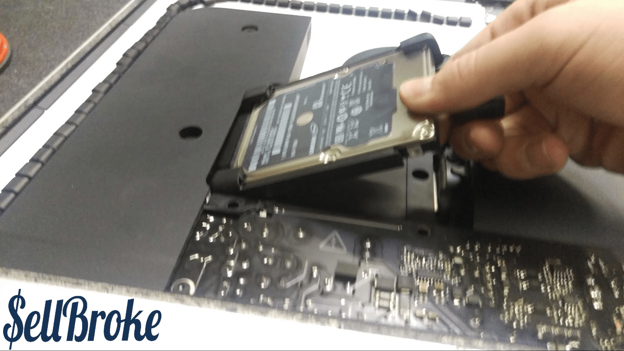 how to disassemble a computer hard drive