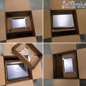 Retaining Shipping Laptop Box