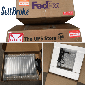 Sell Broke's Instructions to Pack Laptops