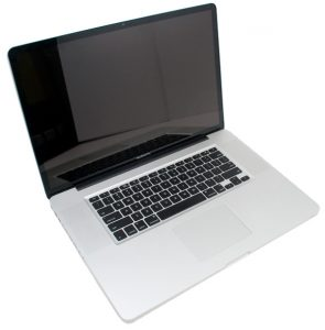 Macbook Pro A1297 17 inch Laptop from above