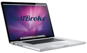 Macbook Pro A1297 17 inch Laptop Left Side