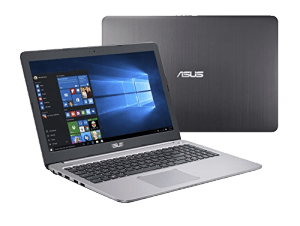 Asus K501 Laptop Front and Back