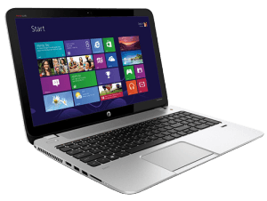 HP ENVY TouchSmart 15 Laptop Left Side
