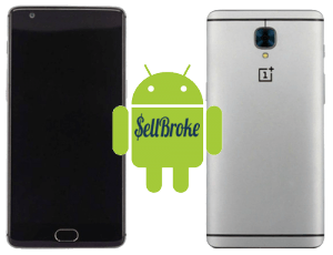 OnePlus 3 smartphonephone front and back