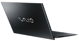 Sony VAIO Pro SVP13215PXB Laptop from behind