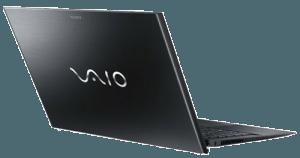 Sony VAIO Pro SVP13215PXB Laptop from behind