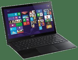 Sony VAIO Pro SVP13215PXB Laptop Left Side