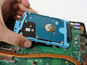 Toshiba Satellite L50-B Laptop Disassembly Step 7