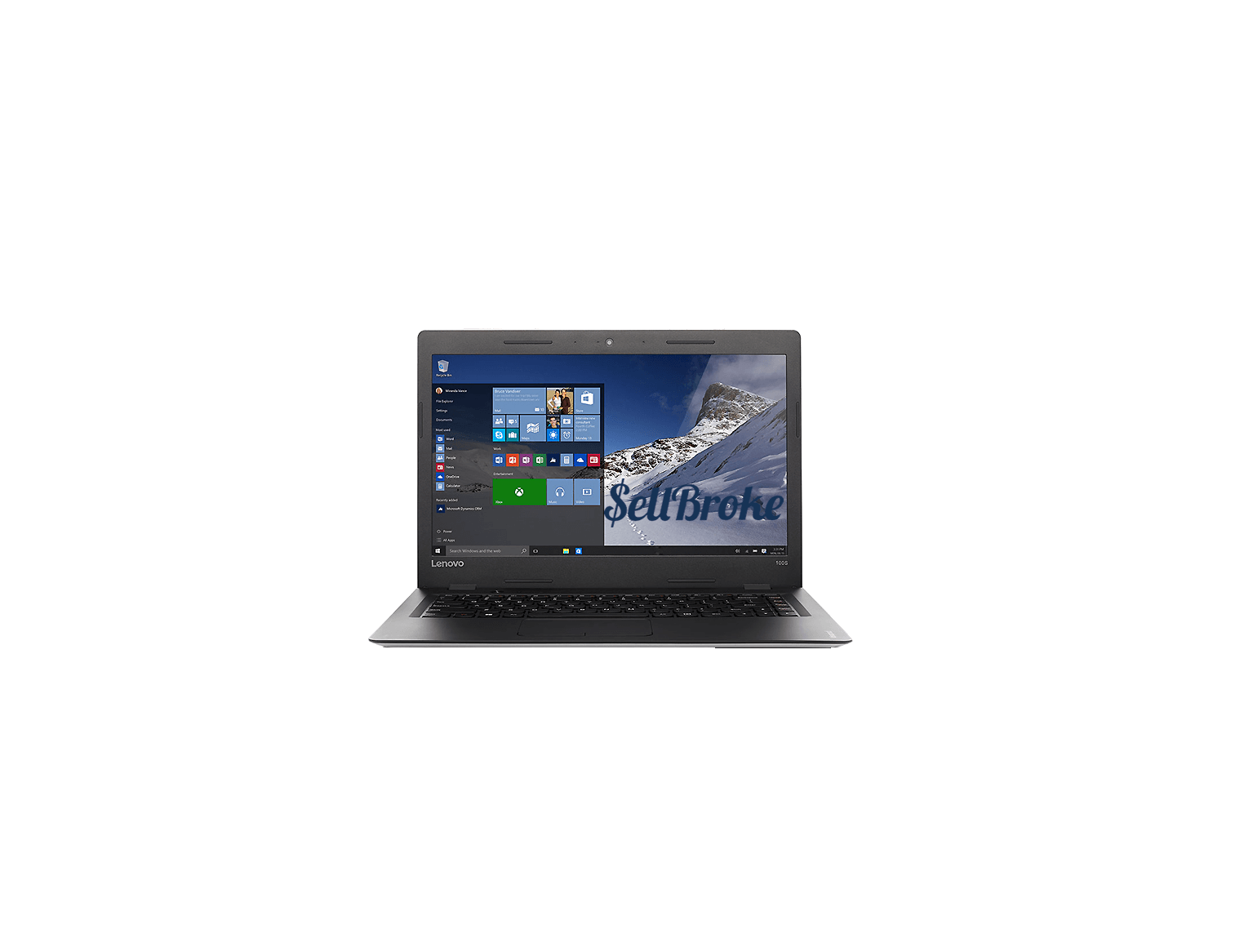 Lenovo Ideapad 100s Laptop Review   SellBroke