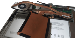 Microsoft Surface Pro 4 1724 tablet disassembly step 14