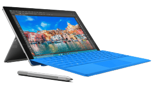 Microsoft Surface Pro 4 1724 Tablet left side