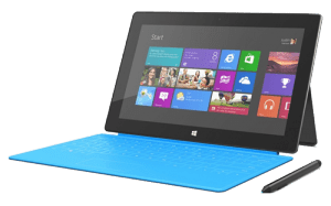 Microsoft Surface Pro 4 1724 Tablet right side