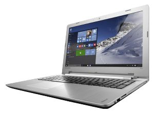 Lenovo IdeaPad 500 Laptop Left Side