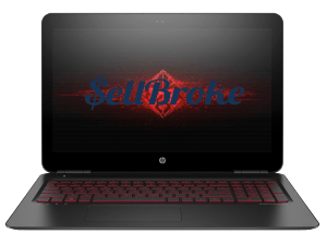 HP Omen Laptop front view