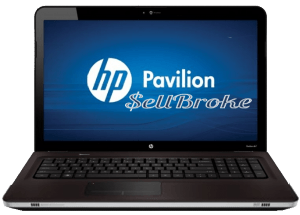 HP Pavilion DV7 Laptop Straight on