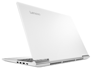 Lenovo IdeaPad 700 15.6-inch Gaming Laptop from behind