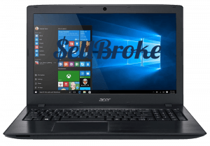 Acer Laptop Aspire e5-575-54sm Front