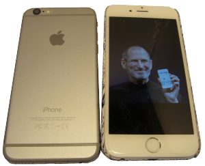 iPhone 6 and Steve Jobs