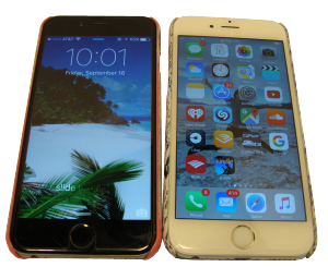 iPhone 6 and iPhone 6S