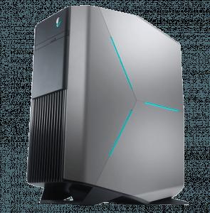 Alienware Desktop Computer Aurora R5 Left Angle