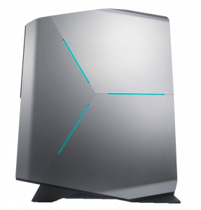 Alienware Desktop Computer Aurora R5 Left Side