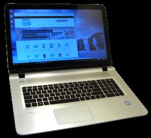 HP ENVY 17t s000 Laptop Front