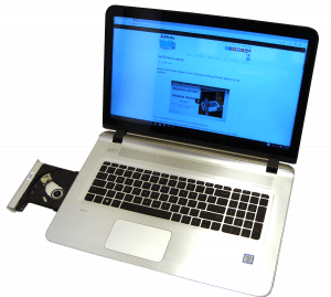 HP ENVY 17t s000 Laptop Open DVD Drive