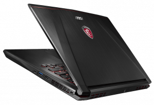 MSI GS43 VR 14-inch Laptop Back