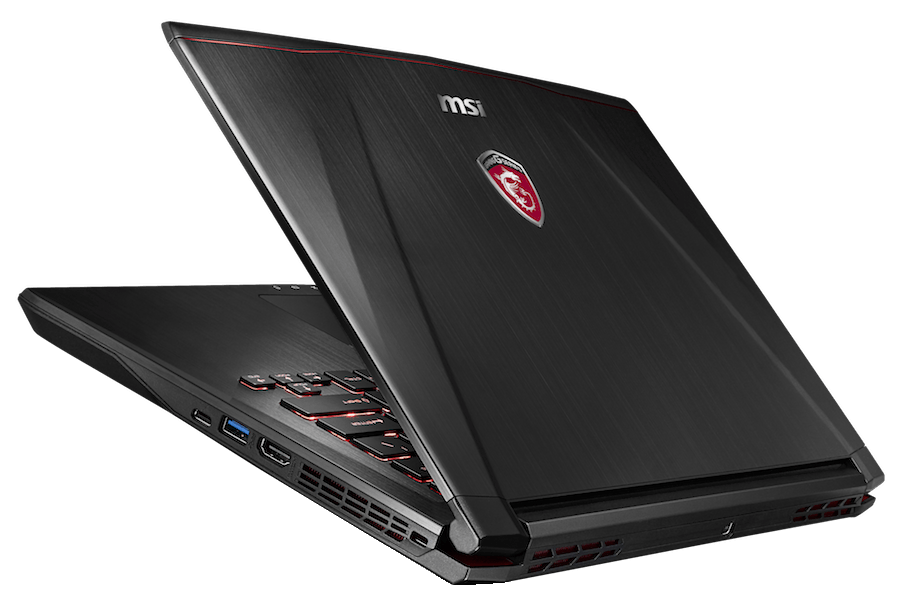 "MSI GS43 VR 14"" Gaming Laptop | SellBroke Laptop Back Png"