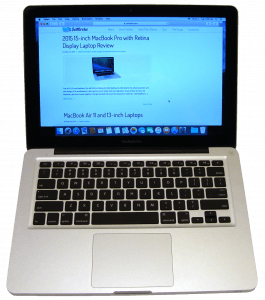 MacBook Pro A1278 Laptop Front