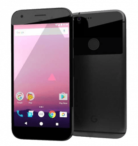 Google Android Pixel Smartphone Front and Back