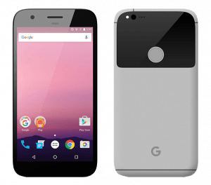 Google Pixel Android Smartphone Back and Front