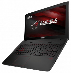 Asus GL552 Gaming Laptop Left Side