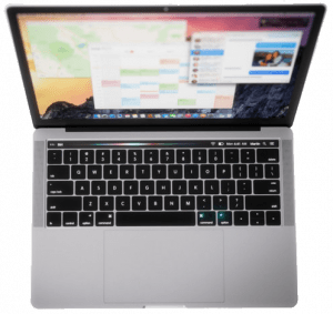 2016 MacBook Pro from above