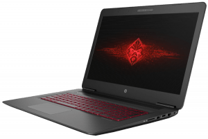 HP OMEN 17-inch Gaming Laptop Left Side