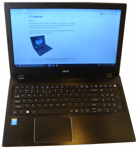 Sell Broken Acer Aspire F15 Laptop