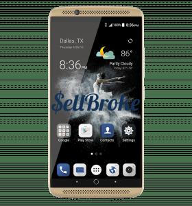 ZTE Axon 7 SmartPhone Front