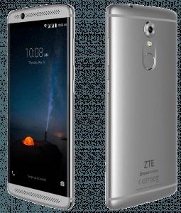 ZTE Axon 7 Phone Both Sides