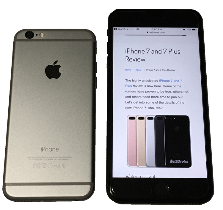 sell broken iphone 5 things to consider before buying the iphone 7 or 7 plus 12936