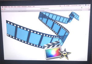 Apple iMovie for a laptop