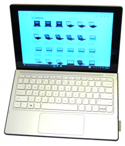 HP Spectre X2 Laptop and Tablet Front