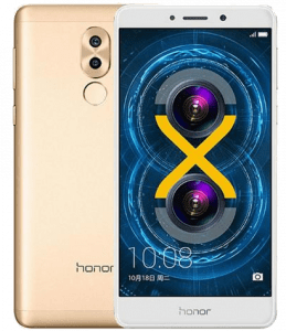 Huawei Honor 6X Smartphone Gold