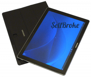 Samsung Galaxy Tab Pro-S SM-W700 Tablet From Above