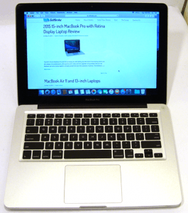 Standard MacBook Pro Laptop