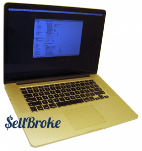 SellBroke MacBook Pro 15-inch Laptop