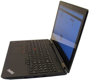Lenovo ThinkPad Yoga 15 Laptop Left Side
