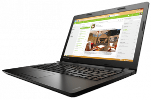 Lenovo IdeaPad 100S 14-inch Laptop Left Side