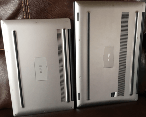 Dell XPS 15 and 13 Bottoms