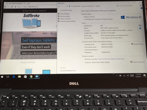 SellBroke Dell XPS 13 9335 Specs